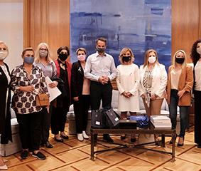 Συνάντηση με τον Πρωθυπουργό στο Μαξίμου για τον καρκίνο του μαστού: το Metropolitan Hospital ήταν εκεί…